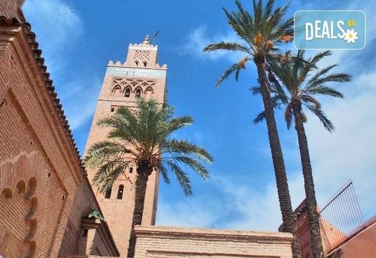Супер екскурзия на супер цена до Мароко, Агадир само за дата 13.09-20.09.16г.! 7 нощувки, със закуски и вечери, обиколка на Есуир и Маракеш, двупосочен билет, летищни такси и трансфери! - Снимка 1