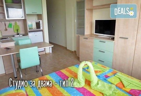Изпратете лятото с почивка в Св. св. Константин и Елена! 1 нощувка в студио или апартамент за до четирима в Апартаменти Фантазия 3*! - Снимка 6