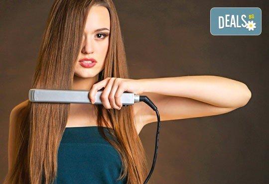 Ново в салон Хасиенда! Полиране на коса, терапия с инфраред преса и подстригване - Снимка 3
