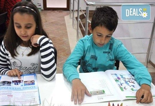 Месечна ученическа занималня за деца от 1 до 5 клас - подготовка на уроците и много забавления от езиков център WonderLand - Снимка 4