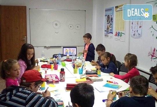Месечна ученическа занималня за деца от 1 до 5 клас - подготовка на уроците и много забавления от езиков център WonderLand - Снимка 9