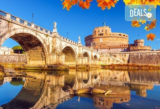 Вечният град - Рим, Ви очаква! Самолетна екскурзия с 4 нощувки със закуски, билет, летищни такси, трансфери и застраховка! - Снимка 3