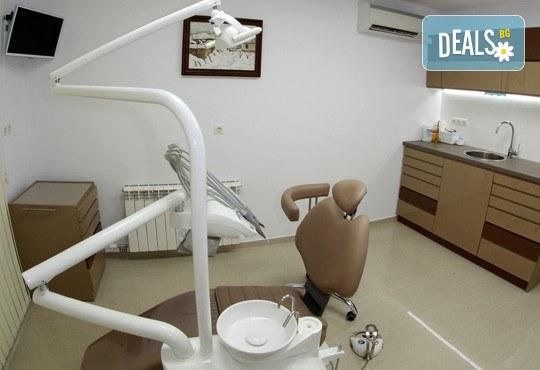 Обстоен дентален преглед, почистване на зъбен камък и зъбна плака с ултразвук и полиране с AirFlow в Дентално студио д-р Антон Гигов! - Снимка 6