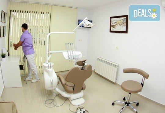 Обстоен дентален преглед, почистване на зъбен камък и зъбна плака с ултразвук и полиране с AirFlow в Дентално студио д-р Антон Гигов! - Снимка 5