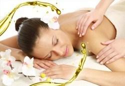Болкоуспокояващ масаж на цяло тяло с алое и иланг-иланг в Chocolate & Beauty