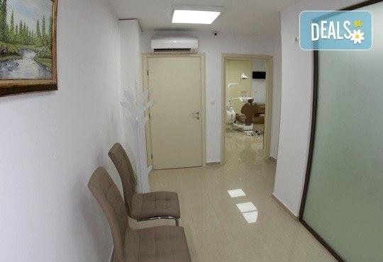 Обстоен дентален преглед, почистване на зъбен камък и избелване с испанската система YOTUEL special, в Дентално студио д-р Антон Гигов! - Снимка 6