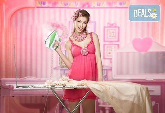 Изкрящо чисто! Пране и гладене на 10кг дрехи или пране и гладене на официални облекла + доставка от Пералня МЕДИТО - Снимка 2