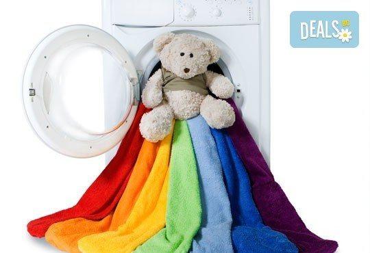 Изкрящо чисто! Пране и гладене на 10кг дрехи или пране и гладене на официални облекла + доставка от Пералня МЕДИТО - Снимка 1