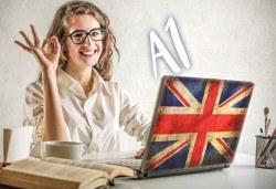 Онлайн курс по английски език на ниво А1, школа Без граници