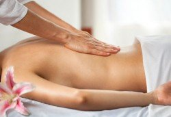 Луксозен пакет - антицелулитна терапия, класически масаж на гръб с етерично масло по избор в център Мотив! - Снимка