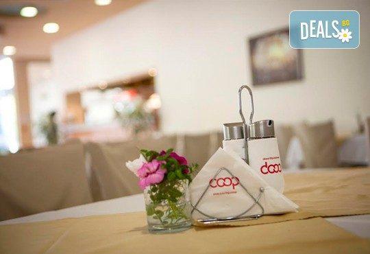 Имате повод да празнувате? Ресторант Интелкооп, Пловдив, Ви предлага четиристепенно празнично меню с богат избор, за 10 човека, на супер цена! - Снимка 10