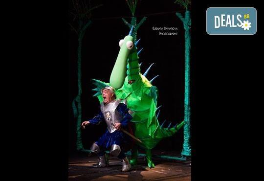 Каним Ви смешна и забавна Приказка за Рицаря без кон- в Младежки театър на 08.10 или 22.10., събота от 11ч. 1 билет - Снимка 4