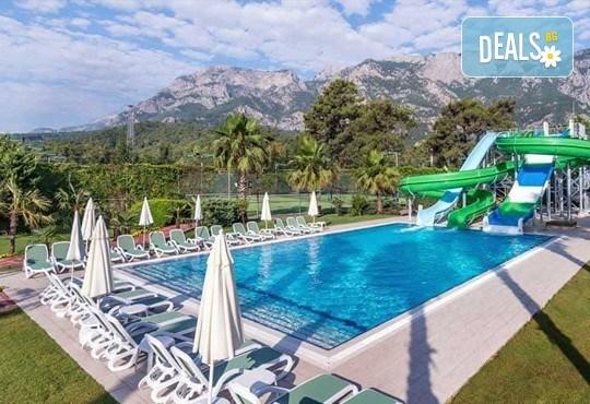 Last minute почивка със самолет в Анталия! 7 нощувки на база All Inclusive в Ghazal Resort Thalasso 5*, Кемер, двупосочен билет, летищни такси и трансфери! - Снимка 10