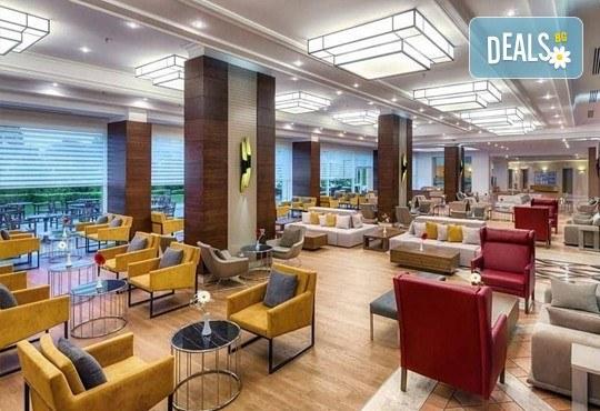 Last minute почивка със самолет в Анталия! 7 нощувки на база All Inclusive в Ghazal Resort Thalasso 5*, Кемер, двупосочен билет, летищни такси и трансфери! - Снимка 7