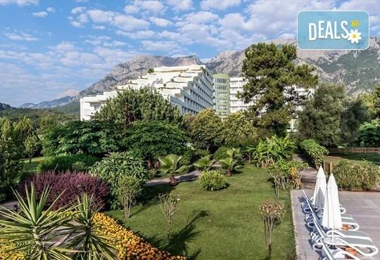 Last minute почивка със самолет в Анталия! 7 нощувки на база All Inclusive в Ghazal Resort Thalasso 5*, Кемер, двупосочен билет, летищни такси и трансфери! - Снимка 13