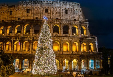 Ранни записвания за Нова година 2017 в Рим, Италия! 5 нощувки със закуски, транспорт и представител от Холидей БГ Тур! - Снимка