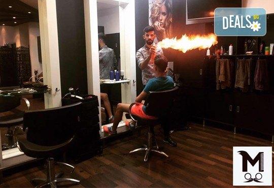 Супер стайлинг само за мъже! Мъжко подстригване, измиване, стилизиране, оформяне на брада и вежди в салон Моатаз Стайл! - Снимка 1