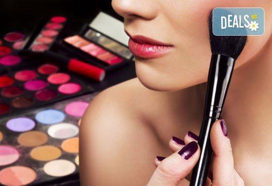 Професионален грим - дневен, вечерен или опушен с най-висок клас козметични продукти на Kroyalan в RalNails - Снимка 3
