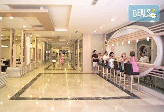 Last minute почивка през октомври в Анталия! 7 нощувки на база All Inclusive в Primasol Telatiye Resort Hotel 5*, двупосочен билет, летищни такси и трансфери - Снимка 11