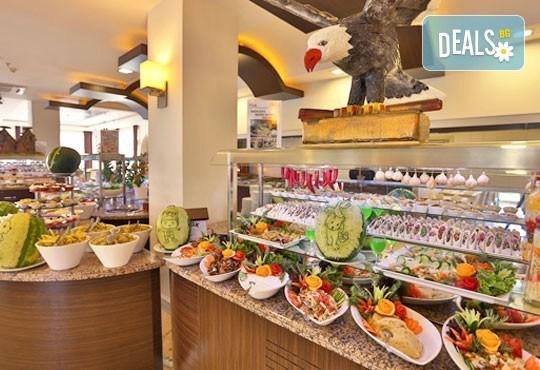 Last minute почивка през октомври в Анталия! 7 нощувки на база All Inclusive в Primasol Telatiye Resort Hotel 5*, двупосочен билет, летищни такси и трансфери - Снимка 9