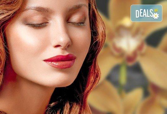 """Вечно млада кожа! Кислороден пилинг и струйно вливане на кислород + терапия """"Златна орхидея"""" от Веригата Дерматокозметични центрове Енигма - Снимка 2"""