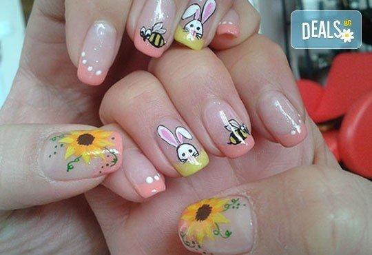 Нежни ръце и красиви нокти! Траен маникюр с най-новите гел лакове на Astonishing Nails и декорации по избор от Дерматокозметични центрове Енигма - Снимка 9