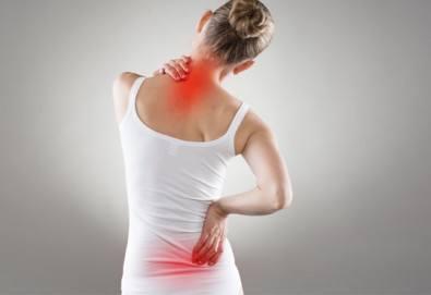Избавете се от болката! 70-минутен лечебен масаж от професионален кинезитерапевт при дискова херния в студио за масажи Samadhi! - Снимка