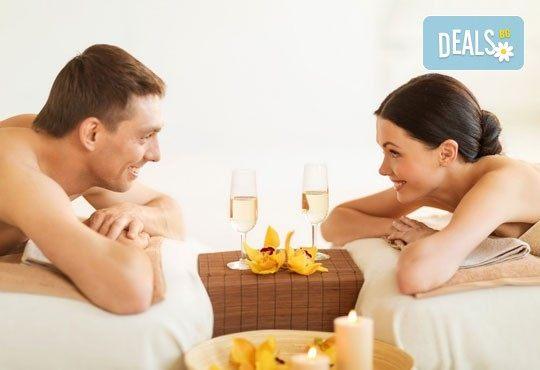 Екзотичен СПА ден за пълно блаженство с масажи за един или двама души и подарък: чаша вино в салон Лаура стайл! - Снимка 1