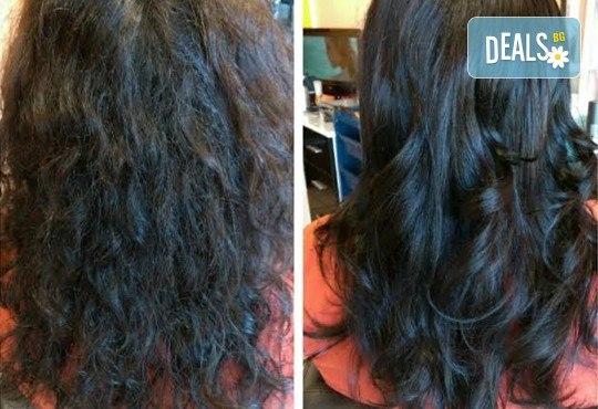 Боядисване с Keune, измиване, маска на Keune според типа коса и оформяне на прическа със сешоар от Ивани Стил! - Снимка 3