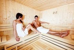 1 час ползване на парна баня, сауна и приключенски душ за един, двама или трима човека в Beauty & Spa Musitta - Снимка