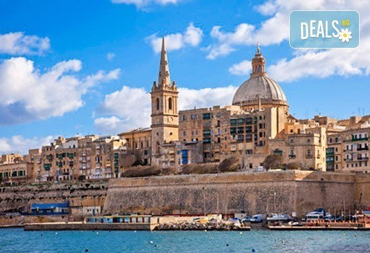 Уикенд почивка на о-в Малта през декември и януари! 3 нощувки със закуски в хотел 3*, двупосочен билет, летищни такси - Снимка 3