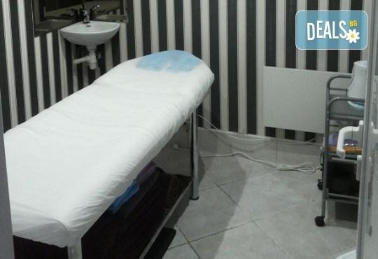 Терапия на околоочен контур срещу стареене в комбинация с безиглена мезотерапия с био козметика на Dr. Spiller в козметично студио Beautу - Снимка 5