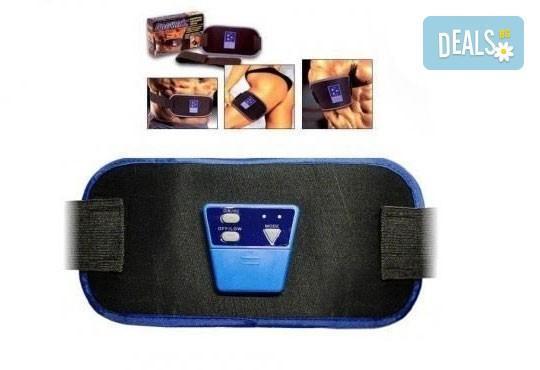 Лесен за употреба и много ефективен фитнес колан ABGYMNIC за отслабване и оформяне на мускулите от Магнифико - Снимка 1