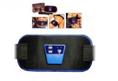 Лесен за употреба и много ефективен фитнес колан ABGYMNIC за отслабване и оформяне на мускулите от Магнифико - Снимка