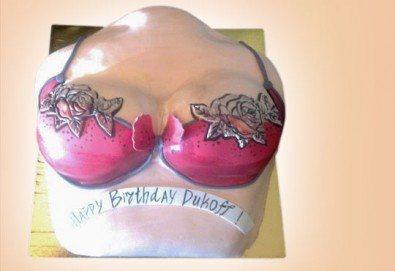 Еротична торта за момински и ергенски партита или за специален празник на любим човек от Сладкарница Джорджо Джани - Снимка