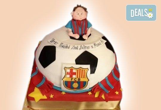 Торти за футболни фенове, геймъри и почитатели на спорта от Сладкарница Джорджо Джани - Снимка 3
