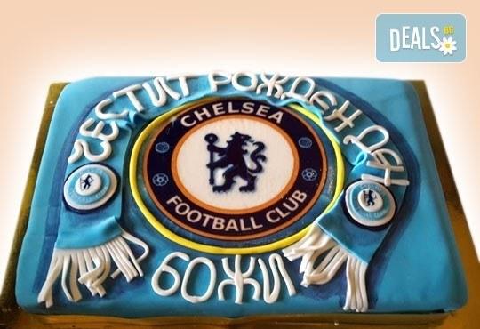 Торти за футболни фенове, геймъри и почитатели на спорта от Сладкарница Джорджо Джани - Снимка 6