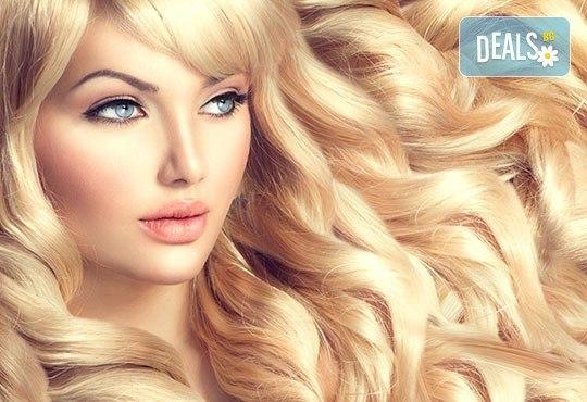 Боядисване с боя на клиента, масажно измиване с или без подстригване и оформяне на прическа със сешоар, салон за красота Нана! - Снимка 3