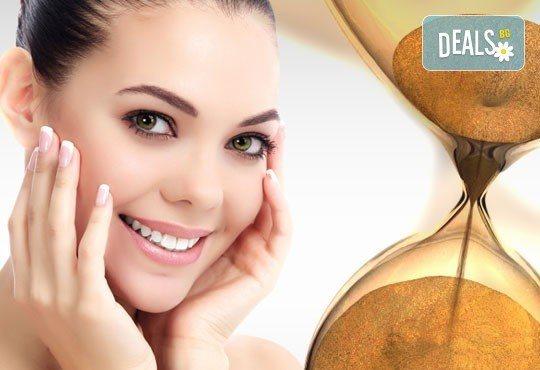 За еластична кожа на лицето - антиейдж терапия Лифтинг и блясък с колагенова заглаждаща маска в салон за красота Ванеси! - Снимка 1