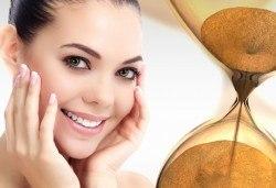 За еластична кожа на лицето - антиейдж терапия Лифтинг и блясък с колагенова заглаждаща маска в салон за красота Ванеси! - Снимка