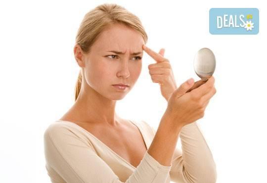 Не позволявайте на малките несъвършенства да помрачат лицето Ви! Терапия за лице първи бръчки - в салон за красота Ванеси! - Снимка 1