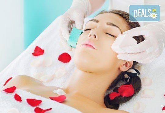 Качествено почиствване на лице с ултразвукова шпататола за здрава и сияйна кожа в салон за красота Ванеси! - Снимка 1