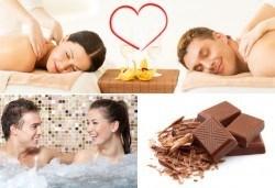Шоколадов масаж за двама на гръб, горни крайници и шийни прешлени в дермакозметичен център Енигма, София! - Снимка