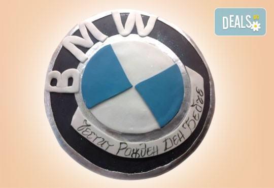 Фирмена торта с лого, индивидуален дизайн и брой парчета по избор от Сладкарница Джорджо Джани - Снимка 3