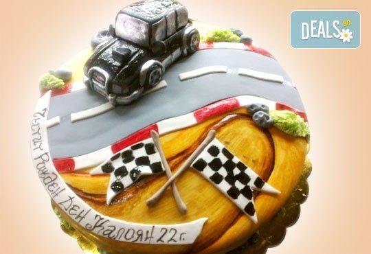 Фирмена торта с лого, индивидуален дизайн и брой парчета по избор от Сладкарница Джорджо Джани - Снимка 25