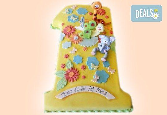 Изкушаващо вкусна бутикова АРТ торта с цифри и размер по избор от Сладкарница Джорджо Джани - Снимка 4
