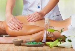 Класически масаж на цяло тяло с арома масла, 60 мин, в Спортен център