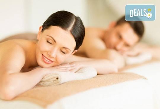 Спа релакс! Едночасов синхронен масаж за двама с жасмин, лайка, роза, лавандула или алое в СПА център Pro Therapy! - Снимка 1