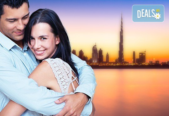 Самолетна екскурзия за Свети Валентин 2017 в Дубай! 4 нощувки със закуски в хотел Rove Downtown Dubai 3*, билет, летищни такси и трансфери - Снимка 1