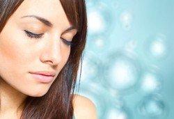 Ултразвуково почистване на лице, масаж, хидратация с кислород и витаминен коктейл+оформяне на вежди от Дерматокозметични центрове''Енигма'' - Снимка